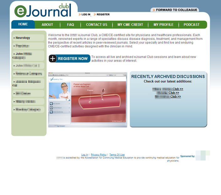 Case Study: Live Presentation Website